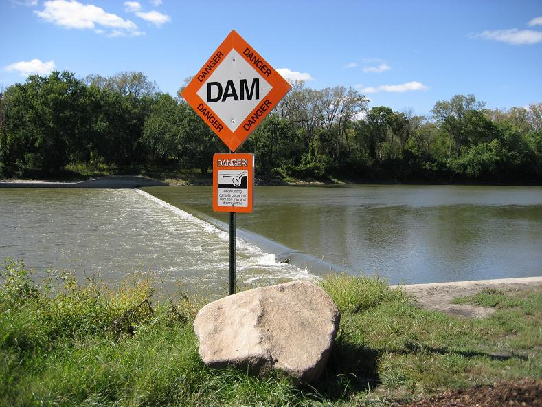 Images - Examples of Low Head Dams